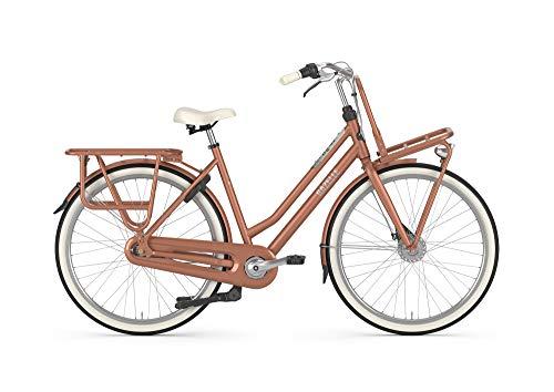 Gazelle Heavyduty NL 7 Gang Damenfahrrad Cityrad 2020, Rahmenhöhe:49 cm, Farbe:Kupfer