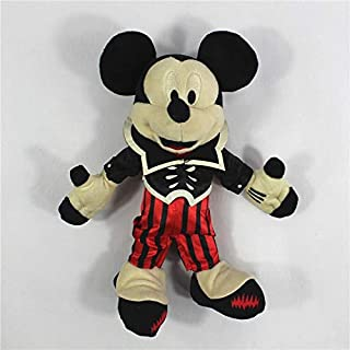 BIBOBO 1 Piece Halloween Mickey Minnie Mouse Vampire Goofy Pluto Dog Plush Toys Doll Kids Gifts Children Birthday Toy