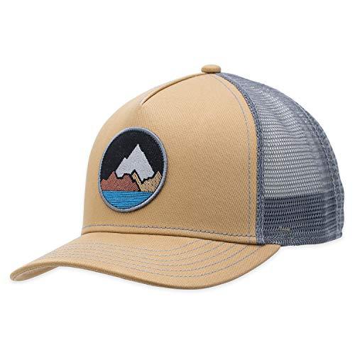 Pistil Men's Spike Trucker Hat, Black, One Size