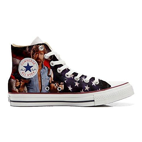 Shoes Sneakers Unisex Original USA personalisierte Schuhe (Handwerk Produkt) telefilm Cult Texas Size 32 EU