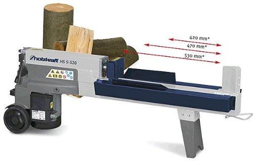 Holzkraft HS 5-520 H - Astilladora de troncos horizontal