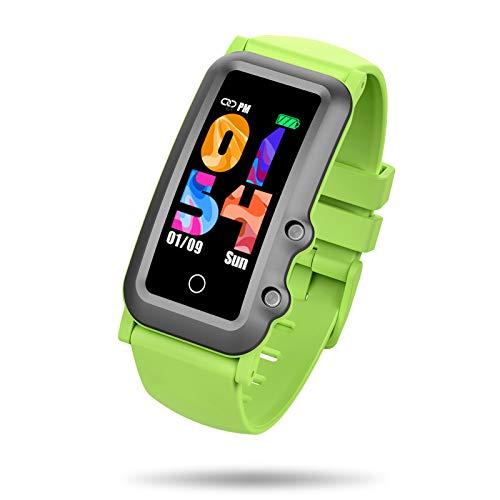 BIGCHINAMALL Reloj Inteligente Niño, Niña Pulsera Actividad Reloj Inteligente de para Deportivo Monitores Smartwatch Contador Pasos Pulsometro Deporte Relog Digitales Watch (Green)