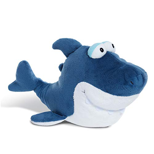NICI Kuscheltier Hai Hai-Ko 30 cm – Hai Plüschtier für Mädchen, Jungen & Babys – Flauschiges Hai Stofftier zum Kuscheln, Spielen & Schlafen – Hai Schmusetier liegend – ab 0 Monaten – 45359