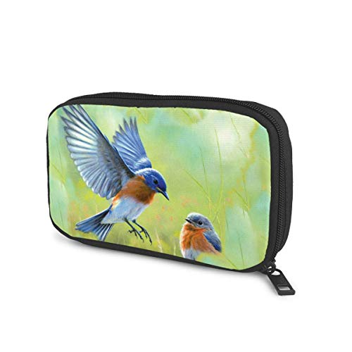 Eastern Bluebird Universal Cable Organizer Bag for USB Cable Power Bank Accessories Storage Travel and Houseware
