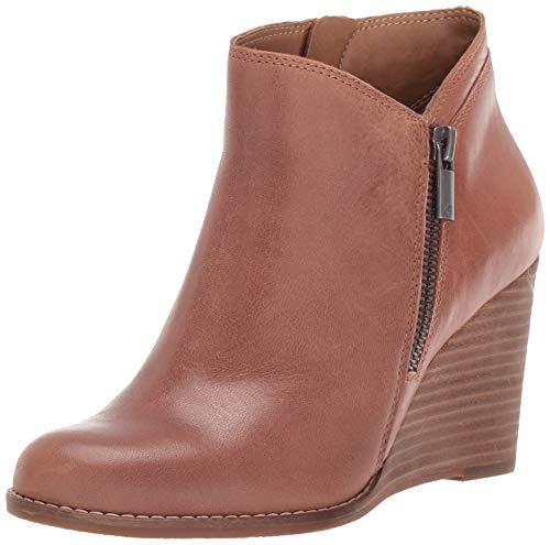Lucky Brand Women's LK-YEWANI Ankle Boot, Latte, 11 M US