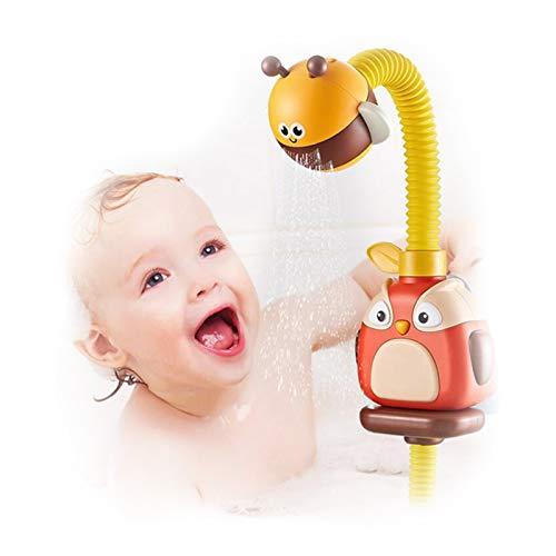 Olaffi Juguetes de baño de Ducha Rociador para bebés Nube Ventosa Grifo de Agua Natación Baño Juego Niños Agua Divertido Juego Regalo