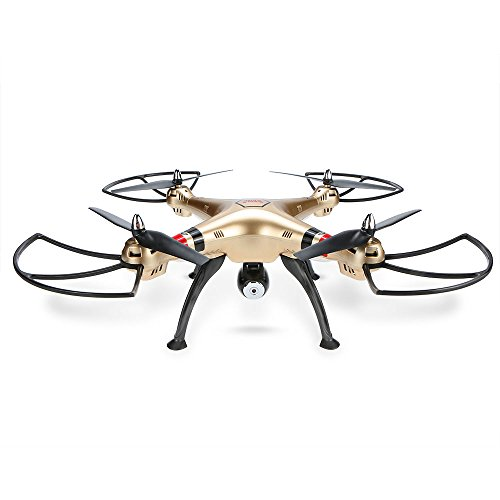 Goolsky Syma X8HC 2.0 MP HD fotocamera RC Quadcopter con altitudine tenere e modalità senza testa