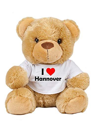 Teddy - I love Hannover - Plüschbär Hannover