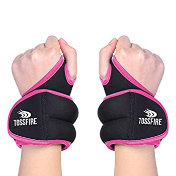 1 Pair Wrist Weights Set 2lb  1lb Each  with Hole for Thumb and Thumb Lock Design for Man Women Great for Running Weightlifting Training Gymnastic Aerobic Jogging
