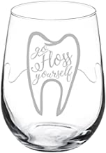 dental hygienist wine glass
