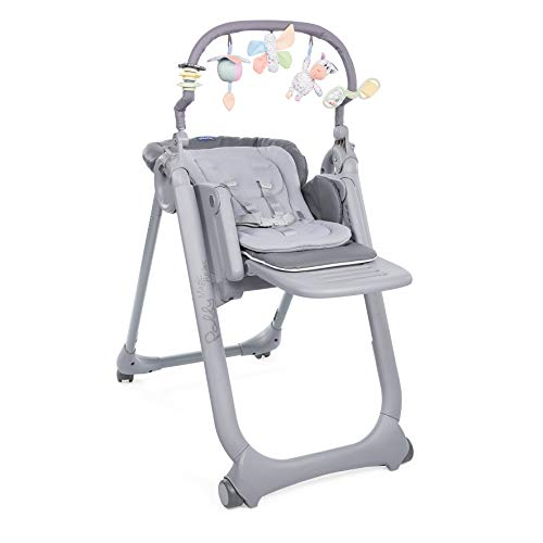 CHICCO 06079502210000 Trona Polly Magic Relax, Gris