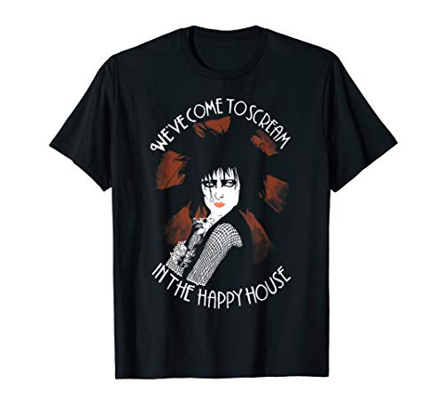 Siouxsie Sioux - We've Come To Scream In The Happy House T-Shirt