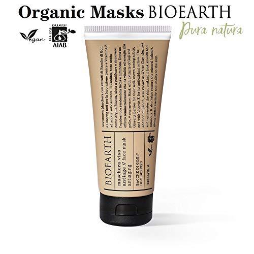 Bioearth Gesichtsmaske Antiage bei Beeren Gojibeeren Wolfsbeere 100 ML