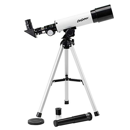 Educational Insights GeoSafari Vega 360 Telescope, Beginner Telescope for Kids & Adults, Supports STEM Learning, Great to Explore Space, Moon, & Stars