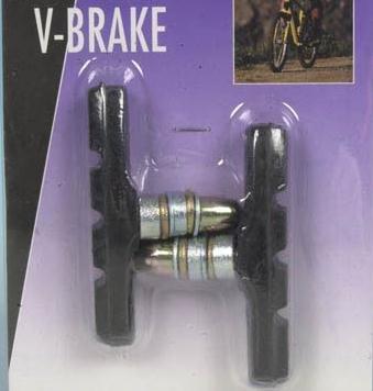 V Brake remschoenen, remklauwen, fiets remmen, vervangende remschoenen (LHS)