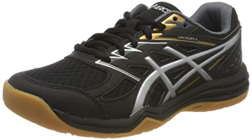 ASICS Unisex-Child 1074A027-001_39 Volleyball Shoes, Black, EU