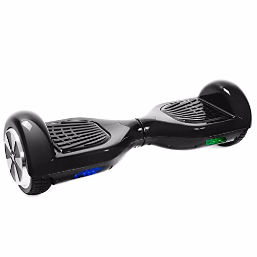 Hover Kart Go Kart Adjustable Attachment for 6.5u0022 Hoverboard, White