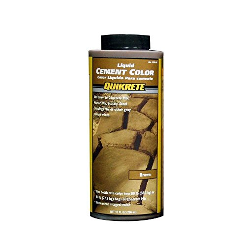 Quikrete 1317-01 Liquid Cement Color, 10oz, Brown