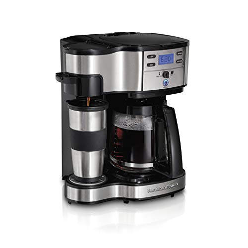 Hamilton Beach 2-Way Brewer Coffee Maker 49980A