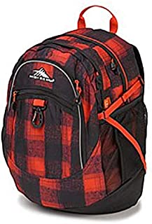 High Sierra H04 X1 067 Hs Fatboy Rvmp Buffalo Plaid/Black/Crimson Backpack