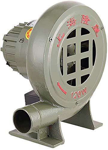 Knoijijuo Ventilateur centrifuge Ventilateur/Ventilateur/Ventilateur Barbecue/Briquets BBQ/Ventilateur avec Iron Forge Manual Gear/Ventilateur léger,250w