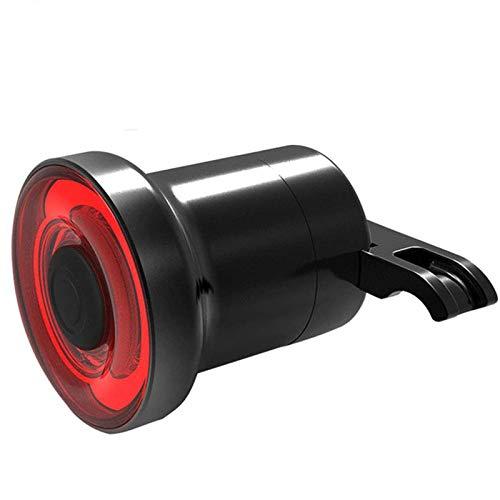 YGWLWL Smart Bike Rücklicht,Mini Ultra Bright Heckleuchte,Warnlicht Mit Bremssensor Und IPX6 Wasserdicht,Passt Zu Jedem Rennrad