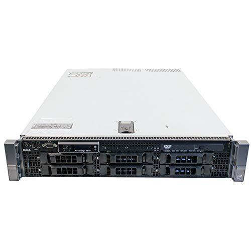"DELL PowerEdge R710 6 * LFF 2 X Intel Hexa Core Processor E5645 (12 m Cache, GHz,) 128GB ddr3ecc REG, 2TB HDD 2 X SAS 3,5 "", Rack 2U, 2 X lan1000, perc6i RAID controlador,reacondicionado Certificado"