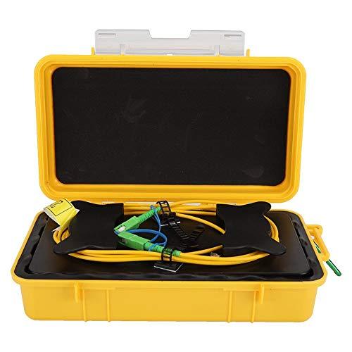 Caja de cable de lanzamiento OTDR, SC/APC-SC/APC SM 1 km Fibra óptica...