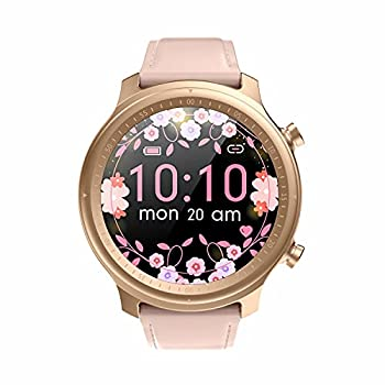Smart Watch for Women Smart Watch for Android and iOS Phones Fitness Tracker with Heart Rate Monitor Sleep Monitor Smart Watch Waterproof with 2 Watch Bands Fitness Watch with Custom Watch Face  Pink