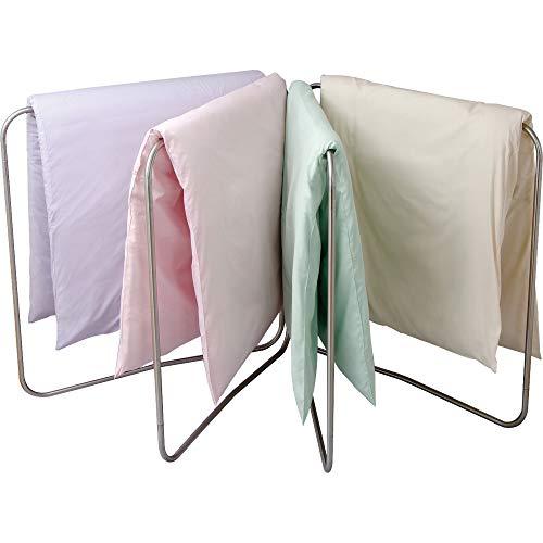 アイリスオーヤマ 洗濯物干し 布団干し ベランダ 物干し 4枚干し 簡単組み立て ステンレス サビにくい 折りたためる 幅245cm ASF4R