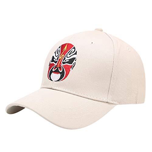 Yesmile Sombrero Gorra de Beisbol Bordado Mujer Gorra De Mezclilla Flor Gorra de béisbol de Moda Diversificación de Patrones Arte de Máscara de Drama de Estilo Chino