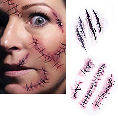 - Blutige Zombie Make Up Kit
