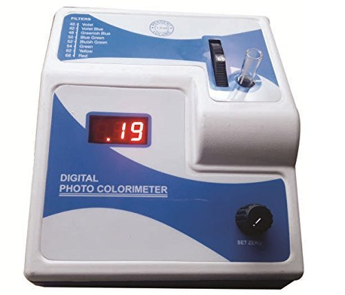 service MG Scientific Deluxe D12 Photo Colorimeter NEW before selling