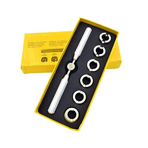 SSXPNJALQ 7 unids/Lote Reloj de reparación de Herramientas de reparación Abrigos Gadgets Convenientes Relojes Durables Removedor Kit Fácil de Abrir Reloj Ajuste Caja Ajuste para Rolex