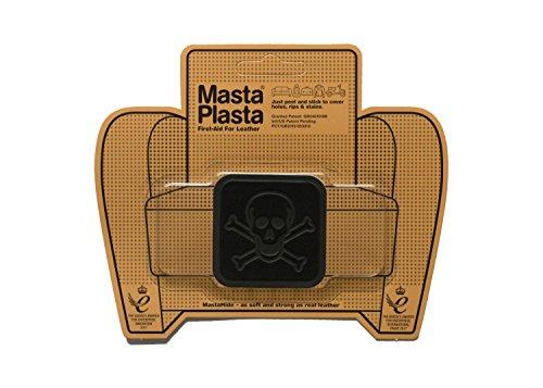 MastaPlasta Parches Premium Autoadhesivo para Reparación de Ante. Gamuza Negro. Elije el Tamaño y el Diseño. Primeros Auxilios para Sofás, Asientos de Coche, Bolsos, Chaquetas