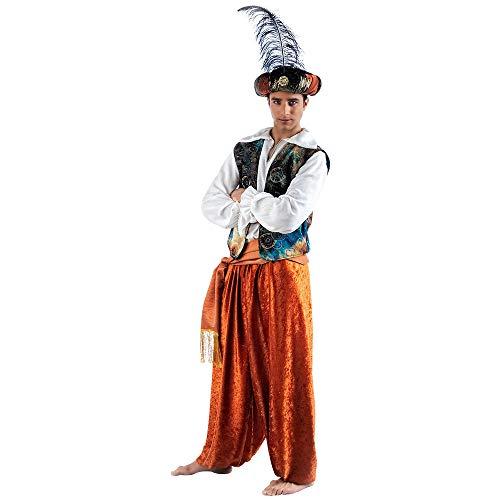 Limit Sport - Disfraz de tuareg Aladín para adultos, talla L (EA105)