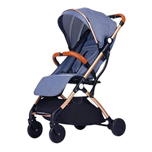 LYP Triciclo Bebé Trolley Trike Cochecito de bebé, Coche para bebé, Ultra-Light Portable, Reclinable, Carrito de bebé recién Nacido, Cochecito de bebé recién Nacido, Paraguas (Color : #5)