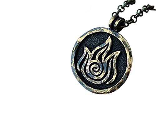 Avatar Last Airbender Fire Nation Necklace Pendant Element Jewelry