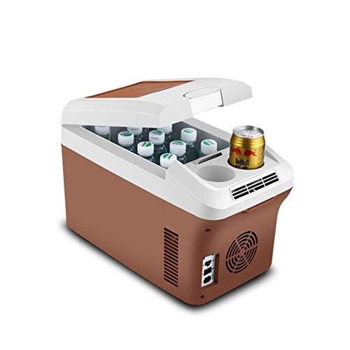 Mini fridge Refrigerador de automóviles, Coche Dual Mini Frigorífico 24V Camión Dedicado 15 litros Caja de refrigeración y refrigeración de gran capacidad de 15 litros Caja de refrigeración portátil M