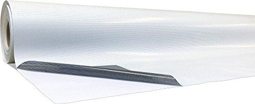 Premium One-Way-Vision I 50 Meter x 137 cm I monomere Folie mit Löchern I Folienstärke von 180 µm & 140 g/m²