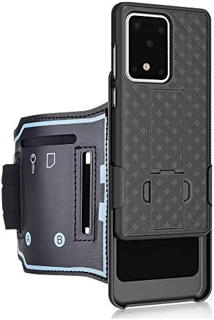 Samsung Galaxy S20 Ultra 5G Sport Armband 180 Rotative Holster Open Face Armband Ideal for Fitness product image