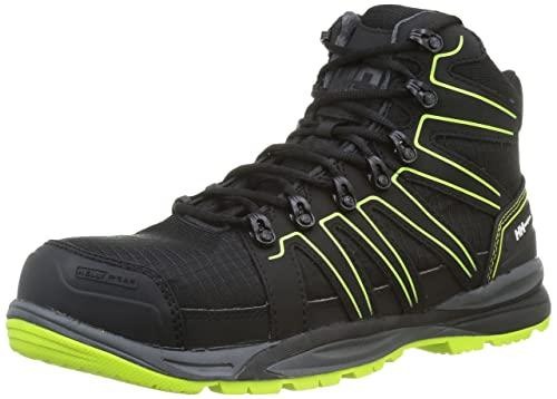 Helly Hansen Unisex Sport Chelsea Boot, Black with Green, 42 EU