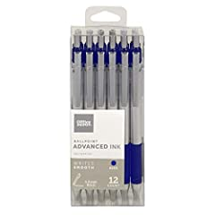 Advanced Ink Ballpoint Pens Retractable Bold 1.2mm Low viscosity