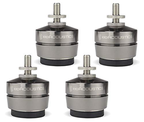 IsoAcoustics Gaia-Serie mit Isolatoren für Lautsprecher und Subwoofer Gaia III, 32 kg max. – 4 Stück