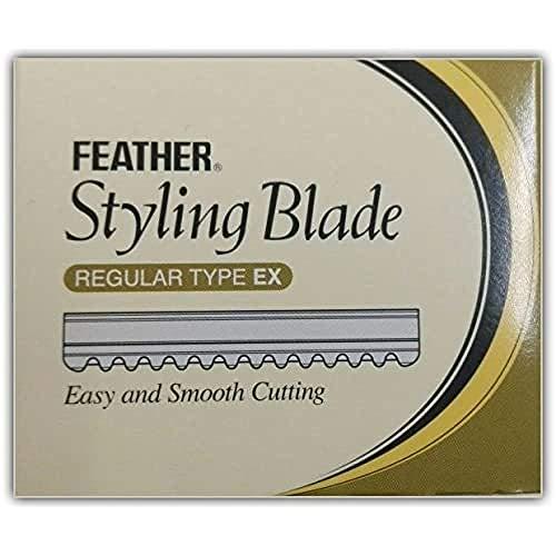 Feather Effilier Klingen TH 10 Stück