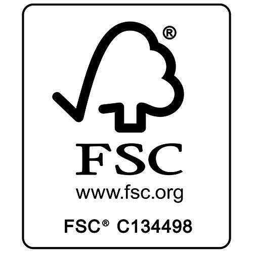 Casaria Sitzgruppe Vanamo 6+1 FSC®-zertifiziertes Eukalyptusholz klappbar 7-TLG Tisch Sitzgarnitur Holz Gartenmöbel Garten Set - 3