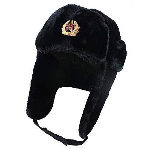 Turbobm Sombreros de Bombardero, Gorra de Invierno Estilo soviético del ejército Ruso...