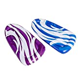 2 Sets Inflatable Swimming Pool Boogie Boards for Kids Swimming Pool Learning and Pool, Lake, Beach Floaty Summer Fun