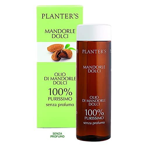 Planter's - Olio di mandorle dolci puro al 100%. Senza profumo. 200 ml