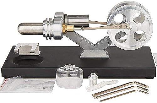 Hppteach Stirlingmotor Sterling Engine Stirling Motor Handw e Stirling P gogisches Spielzeug Geburtstagsgeschenk Kinder